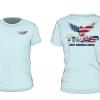ice blue eagle short